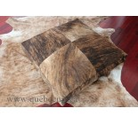 35' Extra large lit pour chien en peau de vache. 100556