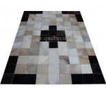 100624 cowhide rug tapis peau de vache Patchwork Canada Collection