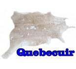 100790  cowhide rug tapis peau de vache SILVER METALLIC  Collection Canada Premium