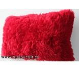 24' Coussin en peau de mouton rouge de la Pagonie. 100907