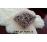 20' Deux côtés en peau de mouton de  patagonie. 100995