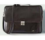 Brown Leather Briefcase. Code 20022063.