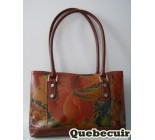 Leather Handbag Printed . Code 22063.
