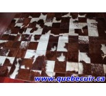 292008 Cowhide Rug Patchwork Collection Toro 2015