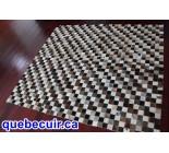 400021 cowhide rug patchwork