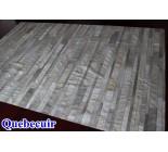 400102 cowhide rug patchwork