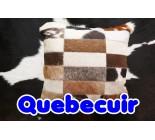 590002 cowhide  peau de vache  COUSSIN PILLOW