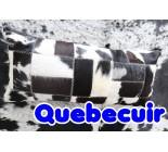 590015  cowhide  peau de vache  COUSSIN PILLOW
