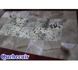 700025 cowhide rug patchwork