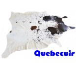 770 1378  cowhide rug tapis peau de vache   Collection Canada Premium