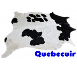 770 1379  cowhide rug tapis peau de vache   Collection Canada Premium