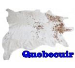 770 1452  cowhide rug tapis peau de vache   Collection Canada Premium