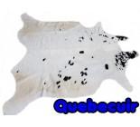 770 2000 Cowhide rug Tapis peau de vache    Collection Quebecuir Premium