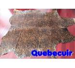 770006  cowhide rug tapis peau de vache BABY ZEBRA