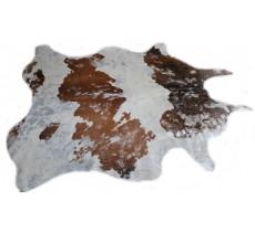 770012  cowhide rug tapis peau de vache SILVER METALLIC Collection Quebecuir Premium