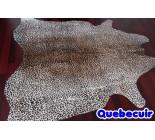 770015  cowhide rug tapis peau de vache  LEOPARD