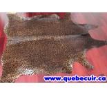 770016  cowhide rug tapis peau de vache  LEOPARD