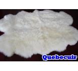 770018 tapis peau de mouton sheepskin