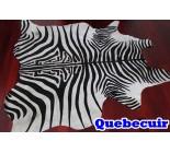 770025 cowhide rug tapis peau de vache ZEBRA