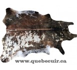 770029 cowhide rug tapis peau de vache GOLDEN METALLIC