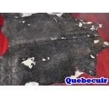 770031 cowhide rug tapis peau de vache GOLDEN METALLIC