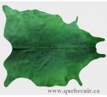 770082 cowhide rug tapis peau de vache GREEN