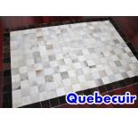 770585  cowhide rug tapis peau de vache PATCHWORK