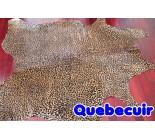 770648 cowhide rug tapis peau de vache LEOPARD