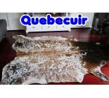 770703 cowhide rug tapis peau de vache