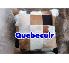 770801 Coussin peau de vache Cowhide pillow