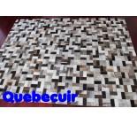 900245 cowhide rug tapis peau de vache PATCHWORK