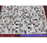 900390 cowhide rug tapis peau de vache PATCHWORK