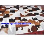900558  cowhide rug tapis peau de vache