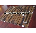 900613 cowhide rug tapis peau de vache PATCHWORK