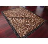 900615 cowhide rug tapis peau de vache PATCHWORK