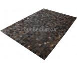 900652  cowhide rug tapis peau de vache PATCHWORK