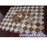 900664  cowhide rug tapis peau de vache PATCHWORK