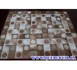 900682 cowhide rug tapis peau de vache PATCHWORK
