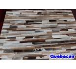 900684  cowhide rug tapis peau de vache PATCHWORK