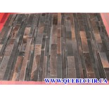 900688  cowhide rug tapis peau de vache PATCHWORK