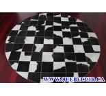 900762 cowhide rug tapis peau de vache PATCHWORK