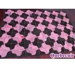 900809  cowhide rug tapis peau de vache PATCHWORK