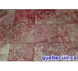 970031 G  cowhide rug tapis peau de vache PATCHWORK MG