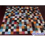 970039 G cowhide rug tapis peau de vache PATCHWORK