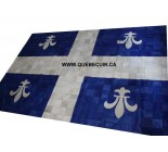 970043 G cowhide rug tapis peau de vache PATCHWORK