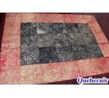 970062 G  cowhide rug tapis peau de vache PATCHWORK MG