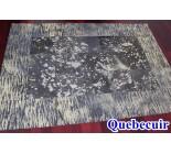 970097 G cowhide rug tapis peau de vache PATCHWORK