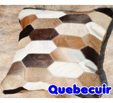 990027 Coussin peau de vache Cowhide pillow