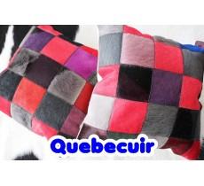 990086 Coussin peau de vache Cowhide pillow