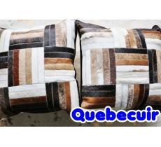 990195 Coussin peau de vache Cowhide pillow